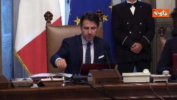 3 - Il primo Consiglio dei Ministri del Governo Conte Bis, le immagini