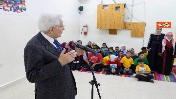 4 - Mattarella in Giordania visita l'Arsenale dell'Incontro del Sermig