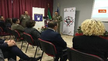 9 - Ministro Trenta con sottosegretario Zoccano  in visita al Centro Veterani