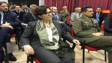 6 - Ministro Trenta con sottosegretario Zoccano  in visita al Centro Veterani