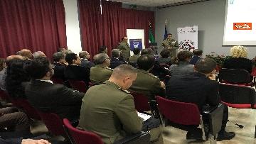 8 - Ministro Trenta con sottosegretario Zoccano  in visita al Centro Veterani