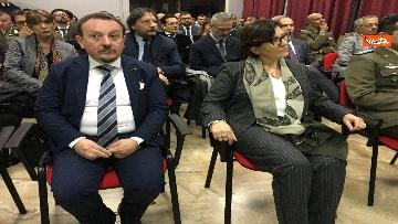 5 - Ministro Trenta con sottosegretario Zoccano  in visita al Centro Veterani