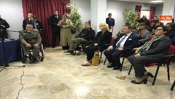 10 - Ministro Trenta con sottosegretario Zoccano  in visita al Centro Veterani