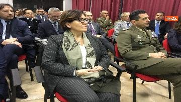 7 - Ministro Trenta con sottosegretario Zoccano  in visita al Centro Veterani