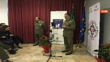 4 - Ministro Trenta con sottosegretario Zoccano  in visita al Centro Veterani