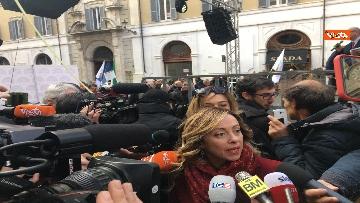 7 - FdI con Meloni in piazza per dire no alla fatturazione elettronica