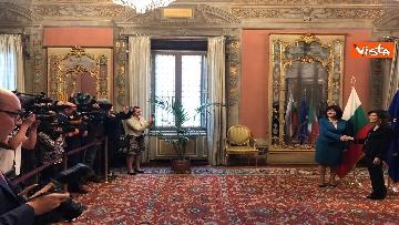 2 - Casellati riceve la presidente del parlamento bulgaro Tsveta Karayancheva
