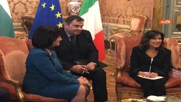 8 - Casellati riceve la presidente del parlamento bulgaro Tsveta Karayancheva