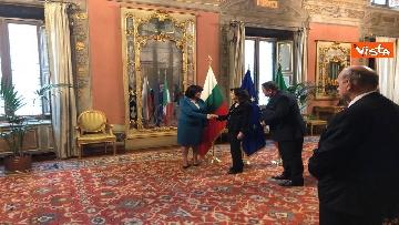 3 - Casellati riceve la presidente del parlamento bulgaro Tsveta Karayancheva