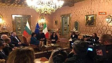 10 - Casellati riceve la presidente del parlamento bulgaro Tsveta Karayancheva