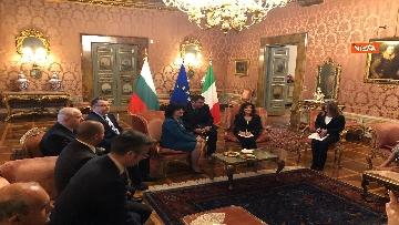 9 - Casellati riceve la presidente del parlamento bulgaro Tsveta Karayancheva