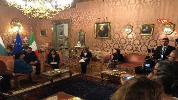 11 - Casellati riceve la presidente del parlamento bulgaro Tsveta Karayancheva