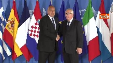 5 - Vertice migranti a Bruxells, tutti gli arrivi da Conte alla Merkel