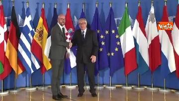 4 - Vertice migranti a Bruxells, tutti gli arrivi da Conte alla Merkel
