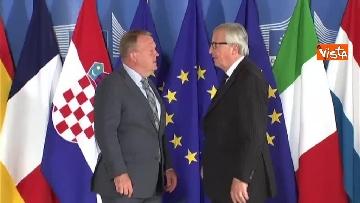 6 - Vertice migranti a Bruxells, tutti gli arrivi da Conte alla Merkel