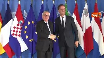 7 - Vertice migranti a Bruxells, tutti gli arrivi da Conte alla Merkel
