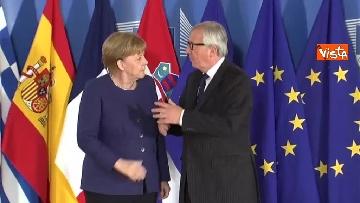 12 - Vertice migranti a Bruxells, tutti gli arrivi da Conte alla Merkel