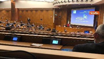 4 - Cerimonia del Ventaglio alla Camera dei deputati con Fico, immagini