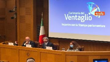 9 - Cerimonia del Ventaglio alla Camera dei deputati con Fico, immagini