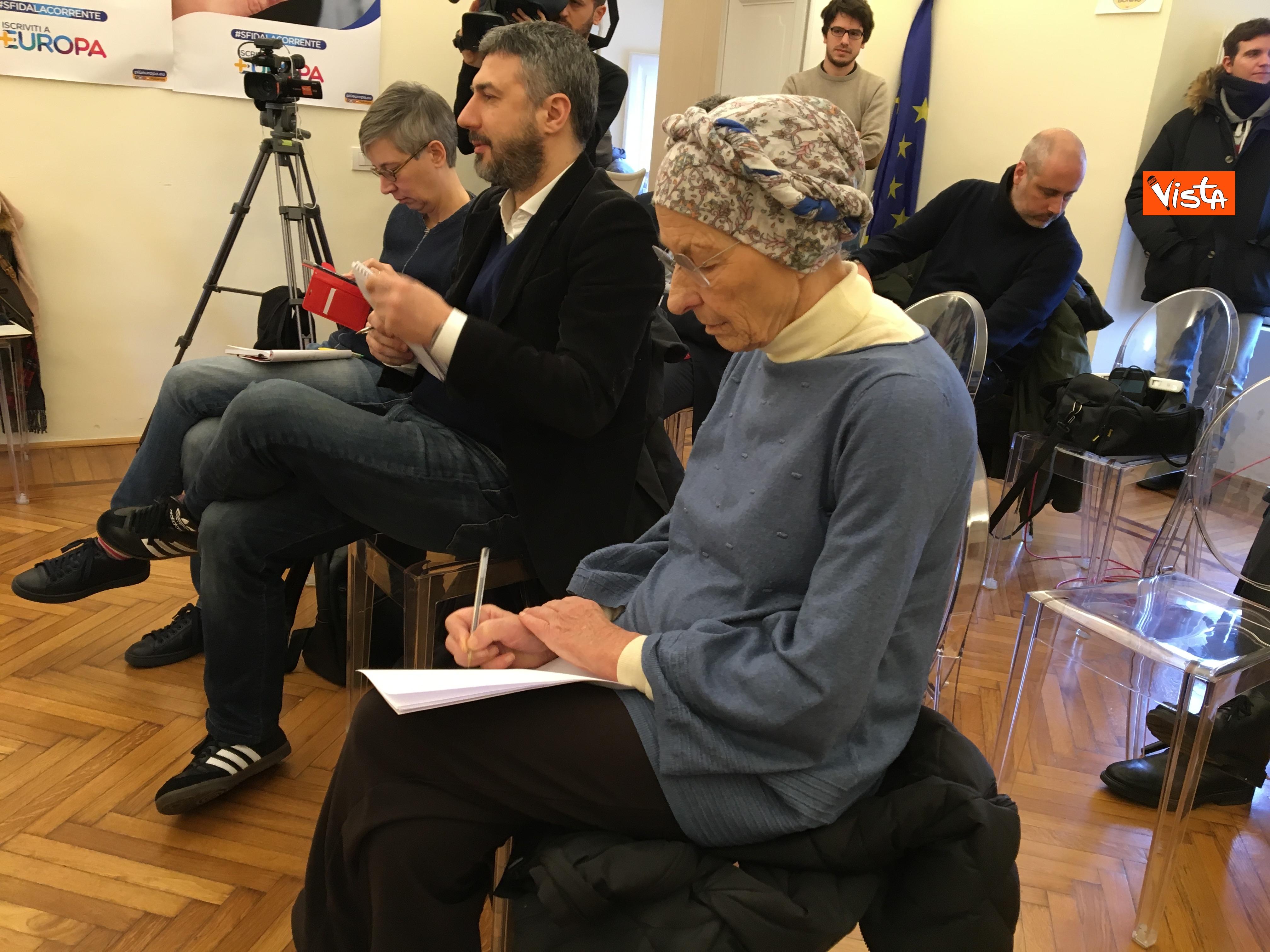 21-01-19 Europa la conferenza di presentazione del Congresso a Milano_ Emma Bonino_06