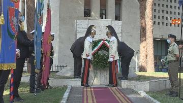 10 - Mattarella al 77° anniversario Difesa di Roma, l'omaggio ai caduti al Parco della Resistenza. Le foto