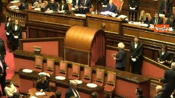 4 - Primo giorno da Senatrice per Liliana Segre