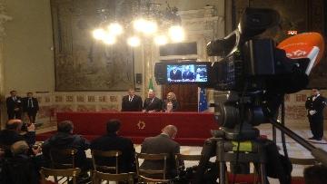 9 - 24-05-18 Consultazioni, la delegazione di Leu con Grasso, De Petris, Fornaro