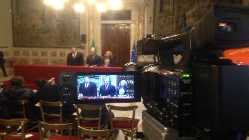 6 - 24-05-18 Consultazioni, la delegazione di Leu con Grasso, De Petris, Fornaro