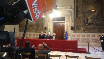 7 - 24-05-18 Consultazioni, la delegazione di Leu con Grasso, De Petris, Fornaro