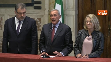 3 - 24-05-18 Consultazioni, la delegazione di Leu con Grasso, De Petris, Fornaro