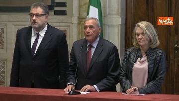 2 - 24-05-18 Consultazioni, la delegazione di Leu con Grasso, De Petris, Fornaro