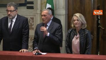 1 - 24-05-18 Consultazioni, la delegazione di Leu con Grasso, De Petris, Fornaro
