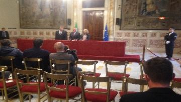 8 - 24-05-18 Consultazioni, la delegazione di Leu con Grasso, De Petris, Fornaro
