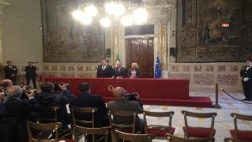 4 - 24-05-18 Consultazioni, la delegazione di Leu con Grasso, De Petris, Fornaro