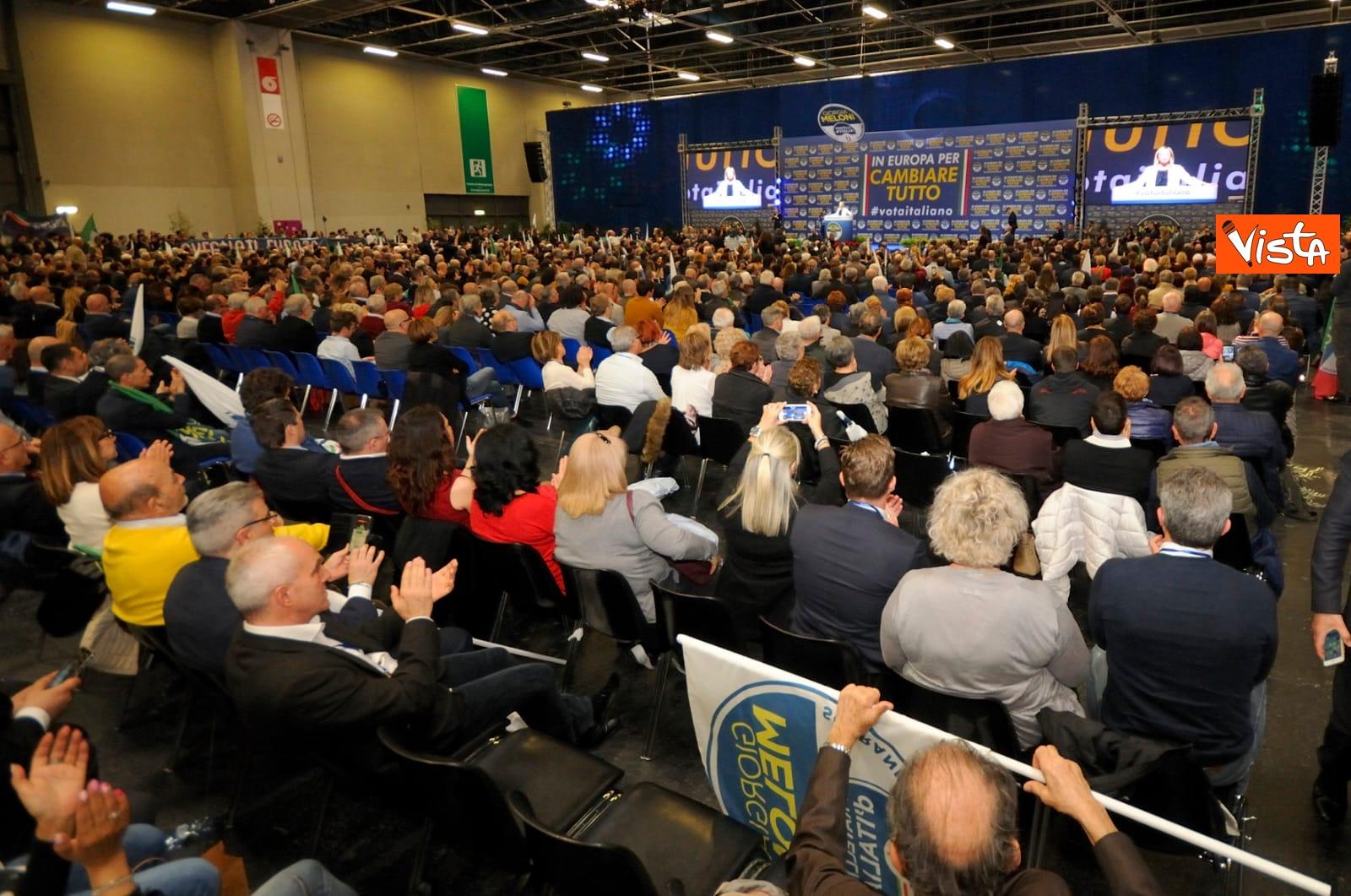 14-04-19 Europee la Meloni con FdI parte da Torino con la conferenza programmatica_05
