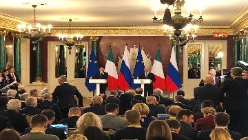 6 - Conte e Putin in conferenza stampa congiunta al Cremlino al termine dell'incontro istituzionale