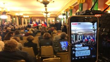 7 - Conte e Putin in conferenza stampa congiunta al Cremlino al termine dell'incontro istituzionale
