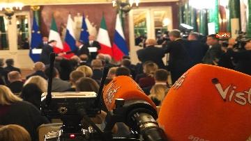 4 - Conte e Putin in conferenza stampa congiunta al Cremlino al termine dell'incontro istituzionale