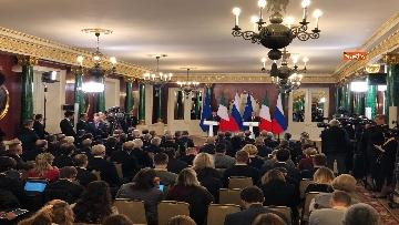 2 - Conte e Putin in conferenza stampa congiunta al Cremlino al termine dell'incontro istituzionale