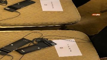 10 - Conte e Putin in conferenza stampa congiunta al Cremlino al termine dell'incontro istituzionale