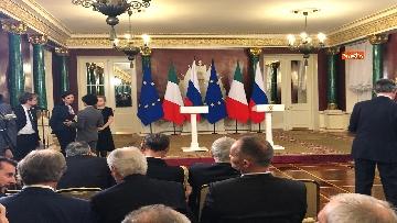 9 - Conte e Putin in conferenza stampa congiunta al Cremlino al termine dell'incontro istituzionale