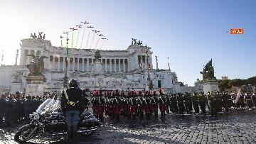 11 - Mattarella all'Altare della Patria per la festa delle forze armate