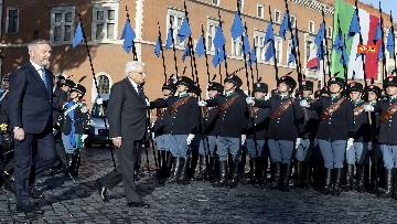 2 - Mattarella all'Altare della Patria per la festa delle forze armate