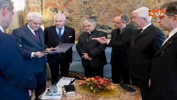 3 - Mattarella riceve al Quirinale delegazione del quotidiano Avvenire