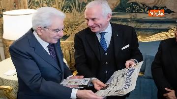 5 - Mattarella riceve al Quirinale delegazione del quotidiano Avvenire