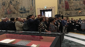 2 - La fortuna di Dante, Fico visita la mostra allestita a Montecitorio