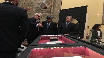 10 - La fortuna di Dante, Fico visita la mostra allestita a Montecitorio