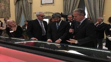 11 - La fortuna di Dante, Fico visita la mostra allestita a Montecitorio