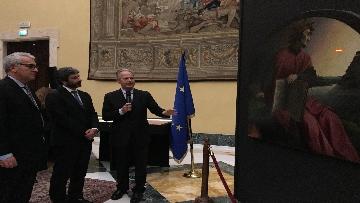 8 - La fortuna di Dante, Fico visita la mostra allestita a Montecitorio