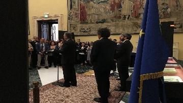 3 - La fortuna di Dante, Fico visita la mostra allestita a Montecitorio